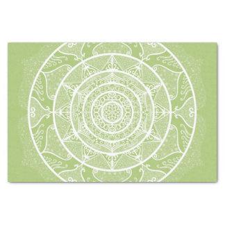 Lichen Mandala Tissue Paper