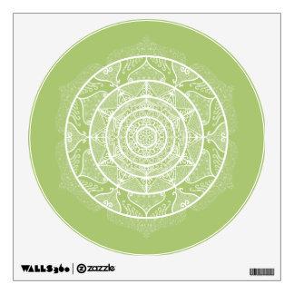 Lichen Mandala Wall Sticker