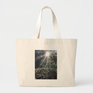 Lichen Rays Large Tote Bag