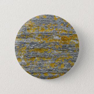 Lichens on granite stone 2 inch round button