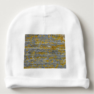 Lichens on granite stone baby beanie