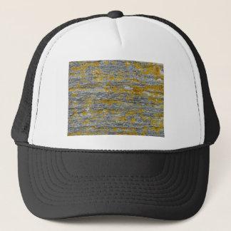 lichens on granite stone trucker hat