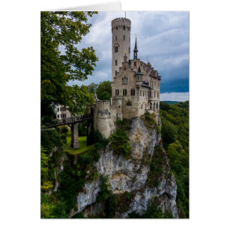 Lichtenstein Castle - Baden-wurttemberg - Germany Card