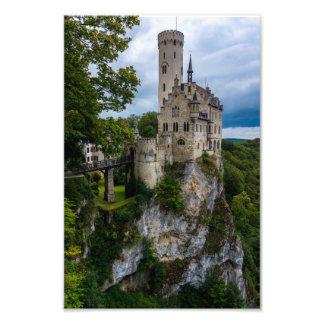 Lichtenstein Castle - Baden-wurttemberg - Germany Photographic Print