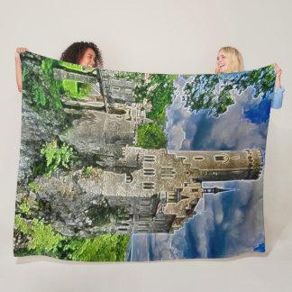 Lichtenstein Castle, Germany  Acrylic Art Fleece Blanket