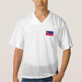 Lichtenstein Flag Men's Football Jersey