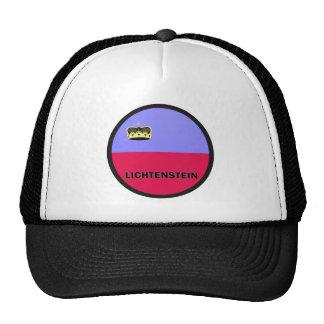 Lichtenstein Roundel quality Flag Trucker Hat