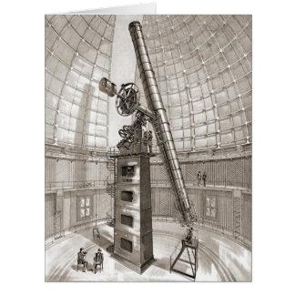 Lick Telescope 1889 Card