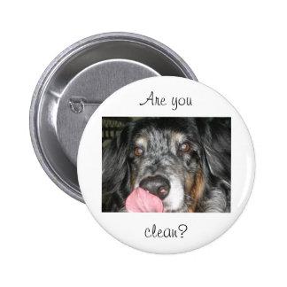 Licking Dog Pin