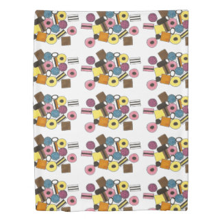 Licorice Allsorts All Sorts Candy Print Bedding Duvet Cover