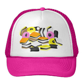Licorice Allsorts Trucker Hat