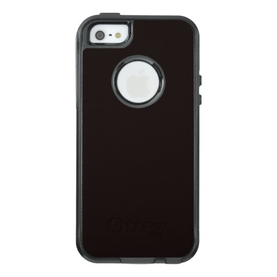 Licorice Black OtterBox iPhone 5/5s/SE Case