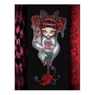 Licorice Cin Cin  Fantasy Goth CandyPostcard Postcard