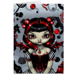 """Licorice Fairy"" Greeting Card"