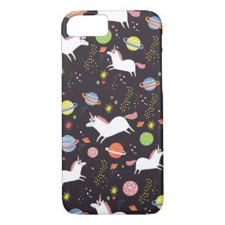 licornes de l'espace coque iPhone 7