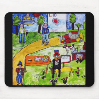 LID mouse pad