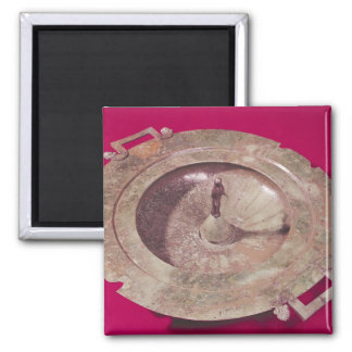 Lid of a krater square magnet