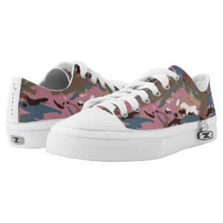 LIDJ Design. Camo Camo, don't blend in at all Low-Top Sneakers
