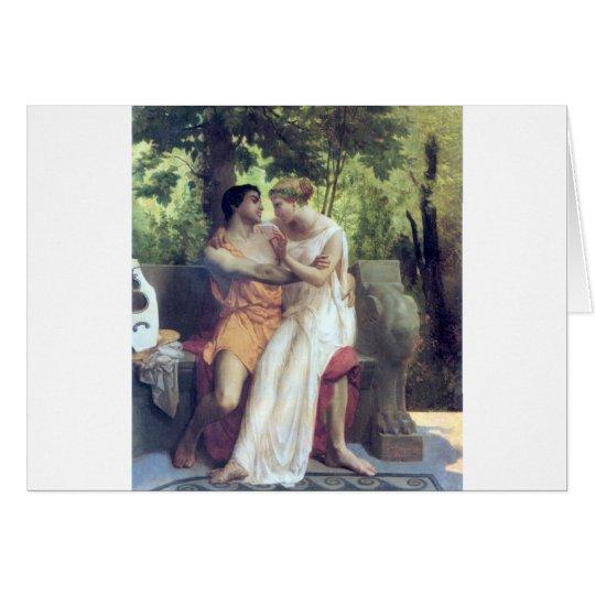 L'Idylle (1850) Card