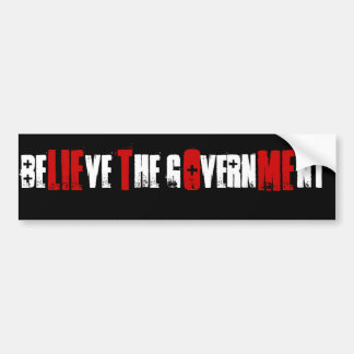 LIE TO ME BUMPER STICKER