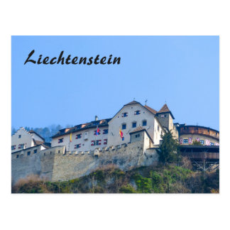 Liechtenstein Castle - Postcard