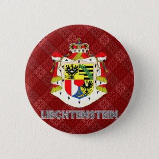 Liechtenstein Coat of Arms 2 Inch Round Button