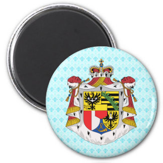 Liechtenstein Coat of Arms detail Magnet