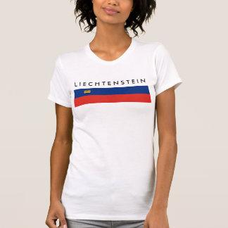 Liechtenstein country long flag nation symbol repu T-Shirt