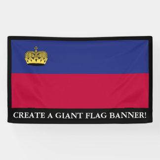 Liechtenstein Flag Banner
