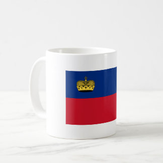 Liechtenstein Flag Coffee Mug