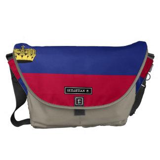 Liechtenstein Flag Commuter Bags