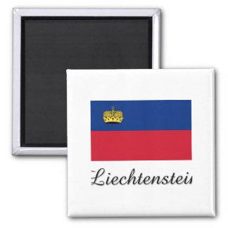 Liechtenstein Flag Design Magnet