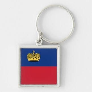 Liechtenstein Flag Keychain