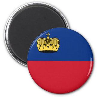 Liechtenstein Flag Magnet
