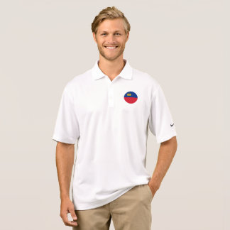 Liechtenstein Flag Polo Shirt
