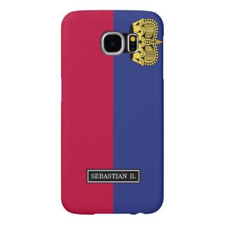 Liechtenstein Flag Samsung Galaxy S6 Cases