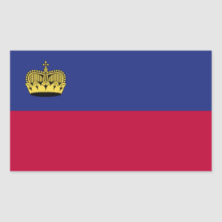 Liechtenstein Flag Sticker