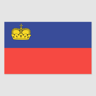Liechtenstein flag sticker