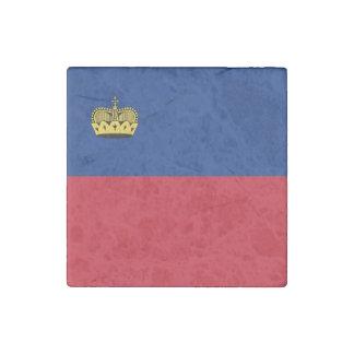 Liechtenstein Flag Stone Magnets
