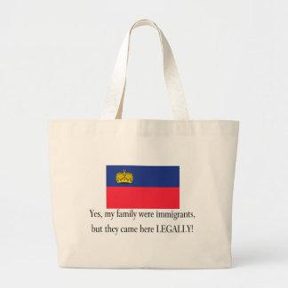 Liechtenstein Jumbo Tote Bag