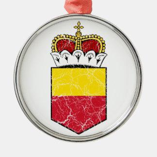 Liechtenstein Lesser Coat Of Arms Metal Ornament