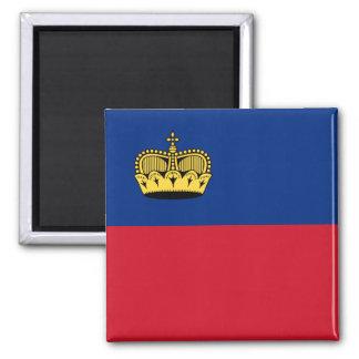 Liechtenstein, Libya flag Magnet