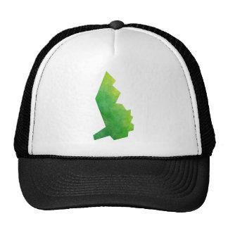 Liechtenstein Map Trucker Hat