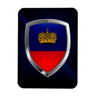 Liechtenstein Metallic Emblem Magnet