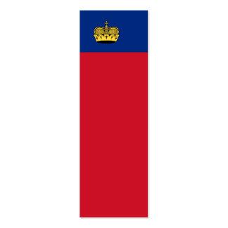 Liechtenstein National Flag Business Card