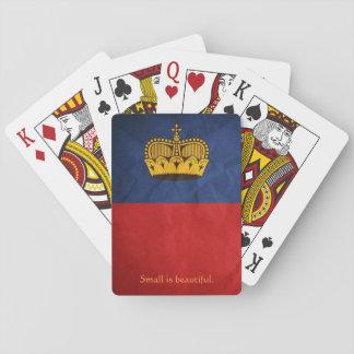 Liechtenstein play maps playing cards