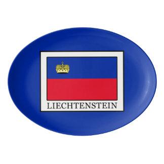Liechtenstein Porcelain Serving Platter