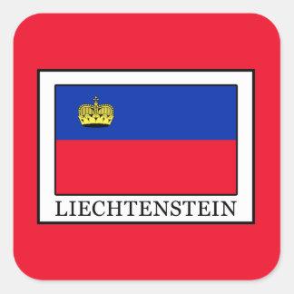 Liechtenstein Square Sticker