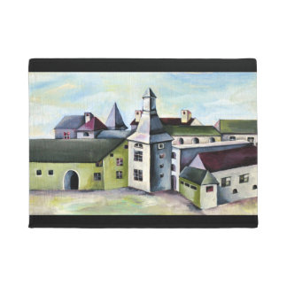 Liege, A Surreal Mystical Stone Castle Doormat