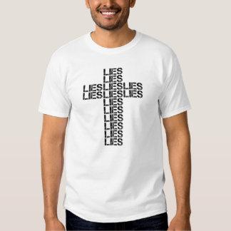 LIES CROSS - (White) T-Shirt